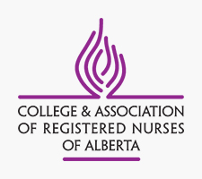 Official logo for College & Association of Registered Nurses of Alberta - CARNA.